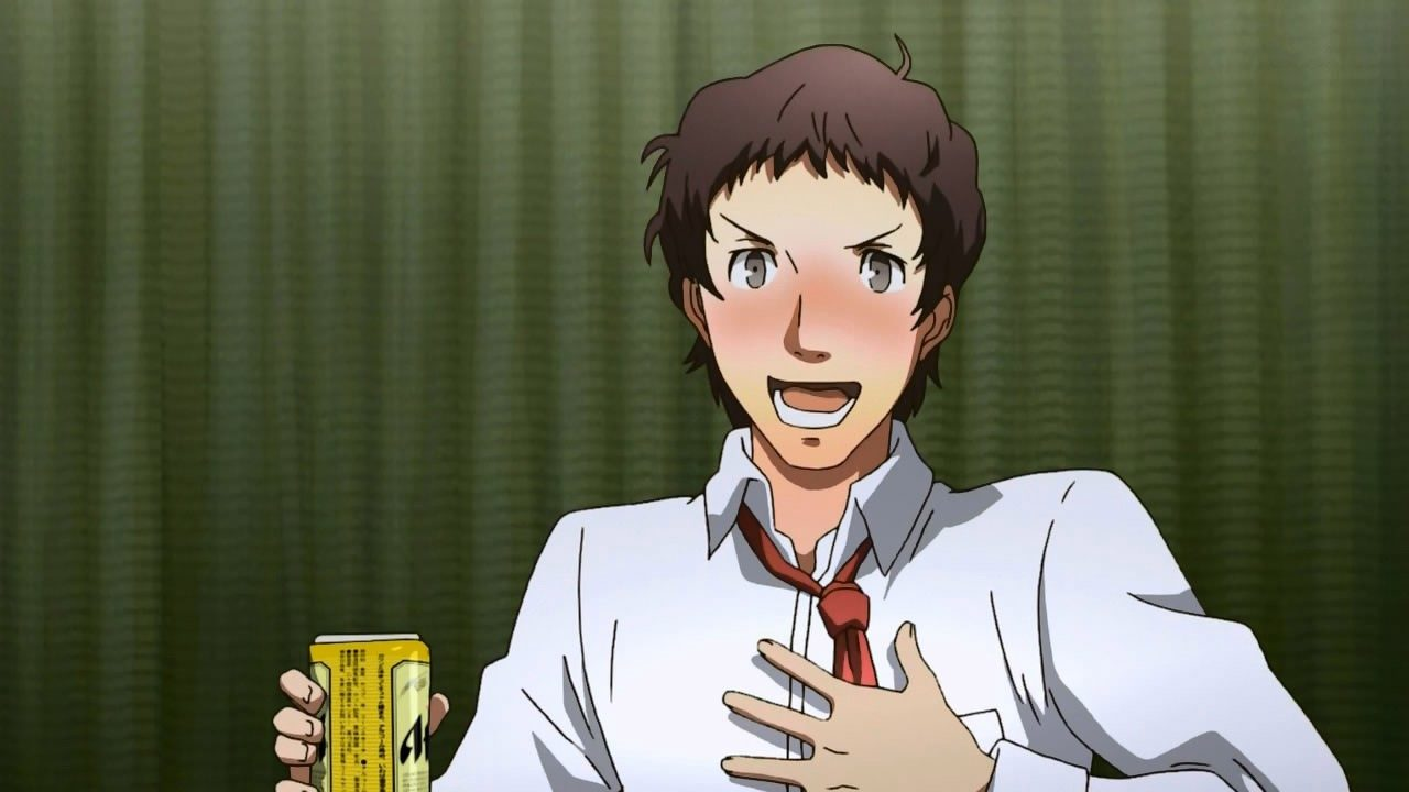This screenshot comes from Persona 4: The Animation, rather than any of the games.