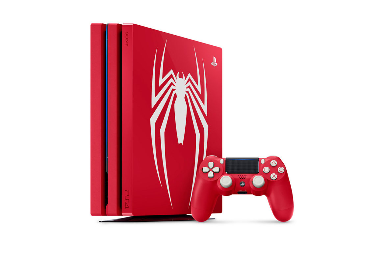 The Marvel's Spider-Man PlayStation 4 Pro bundle.