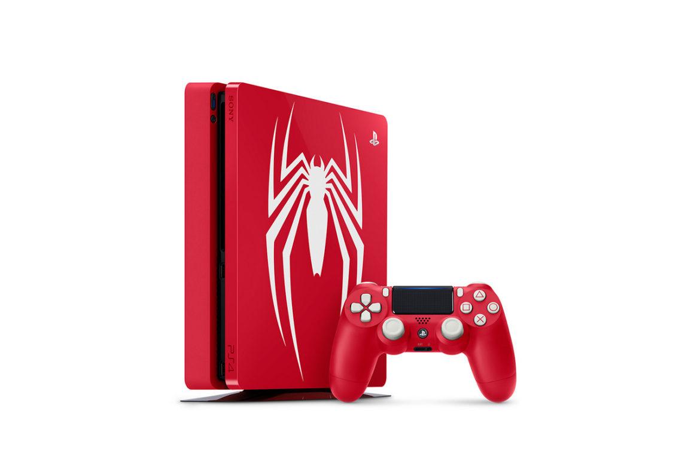 The Marvel's Spider-Man PlayStation 4 Slim bundle.