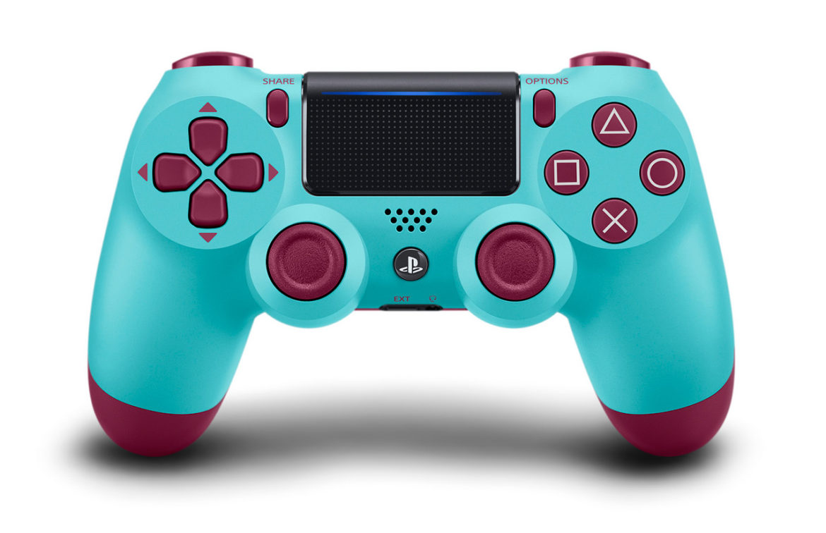The Berry Blue DualShock 4