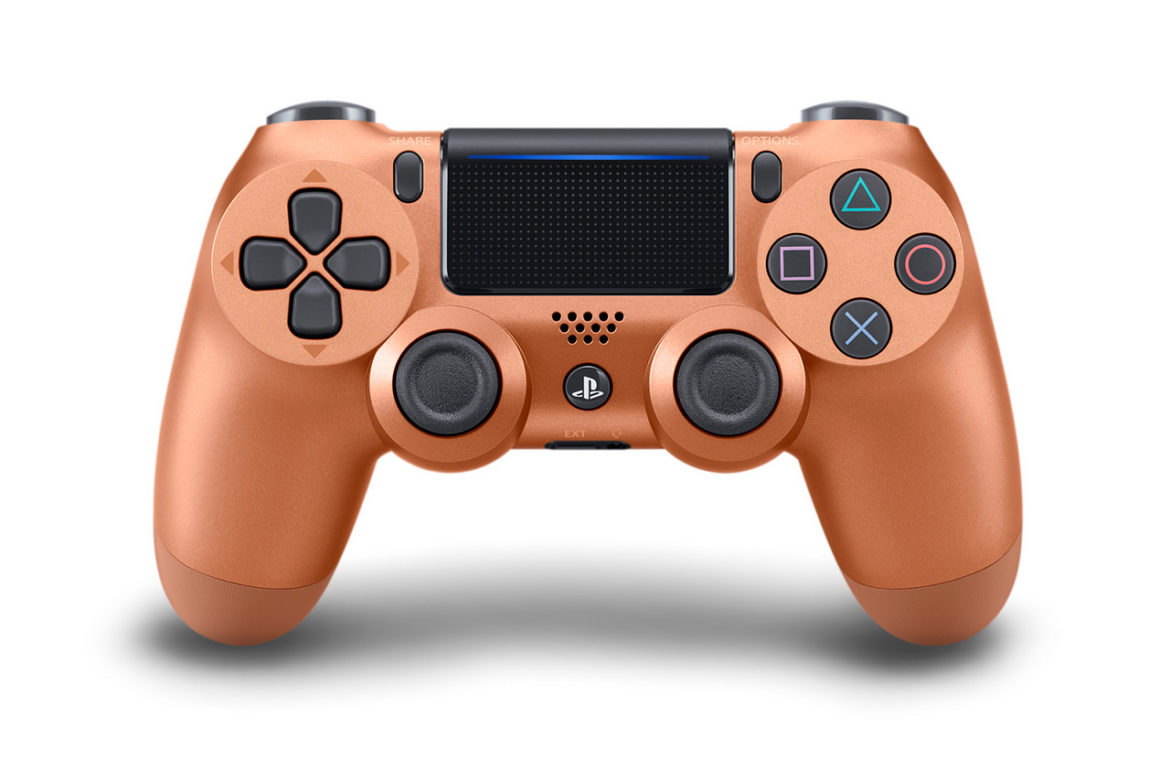 The Copper DualShock 4