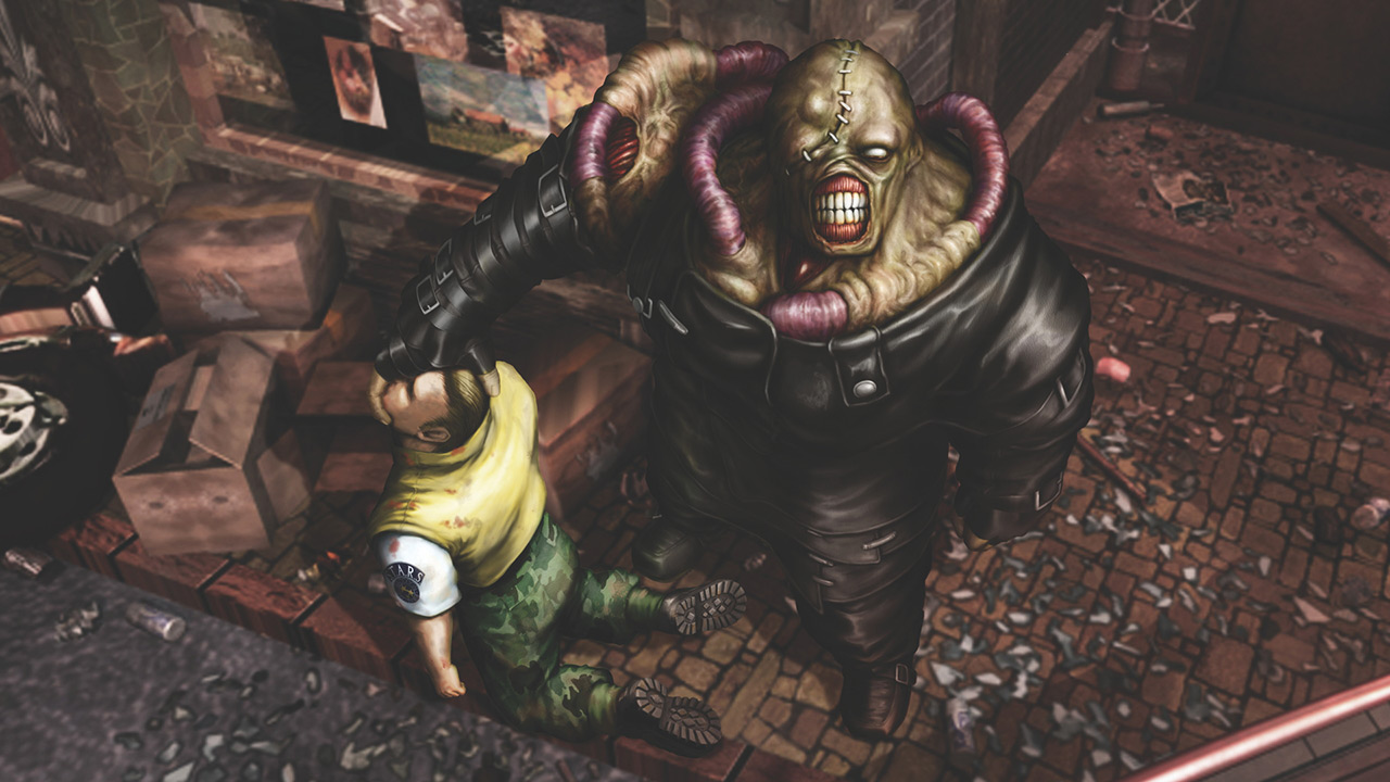The Nemesis in Resident Evil 3: Nemesis