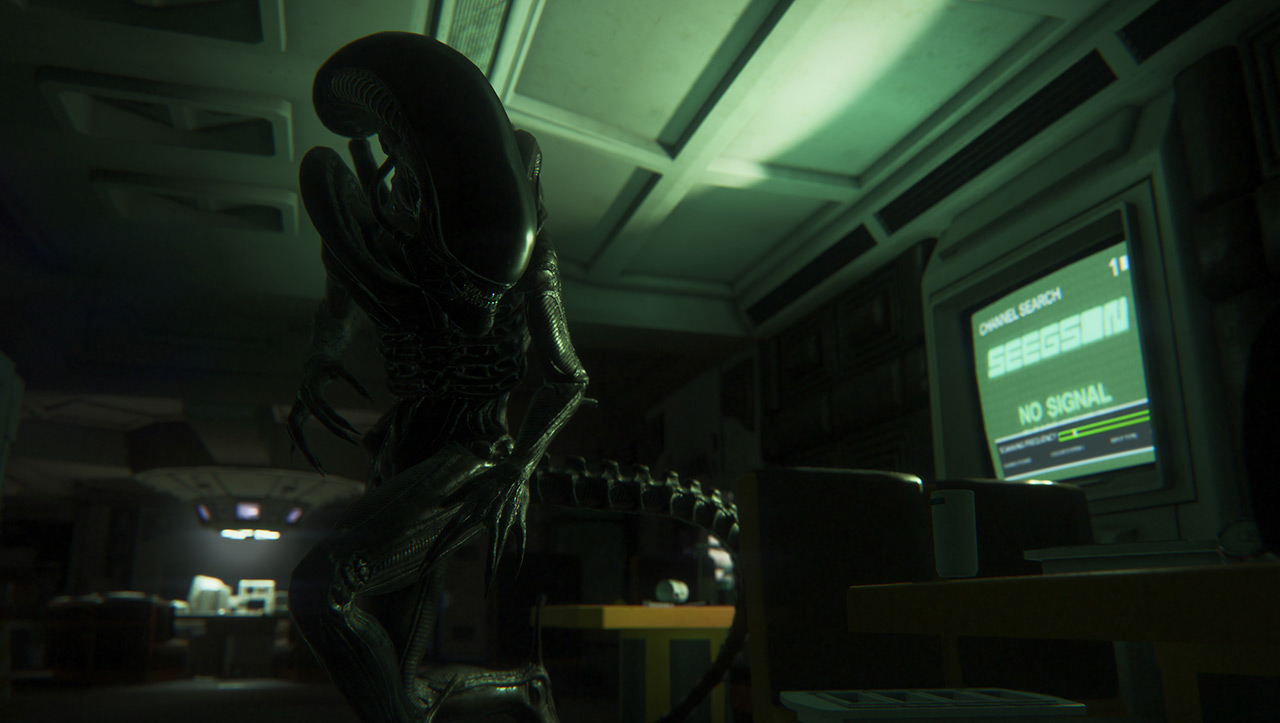 The Xenomorph from Alien: Isolation
