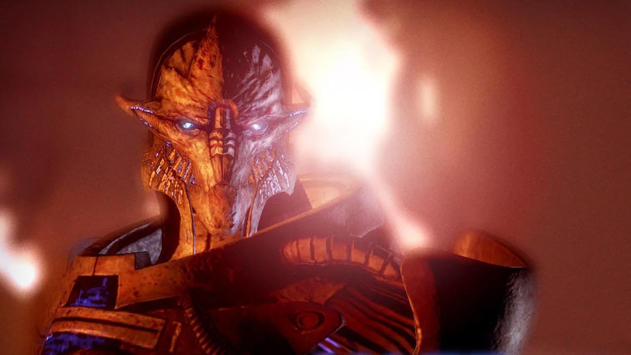 Saren Arterius from Mass Effect