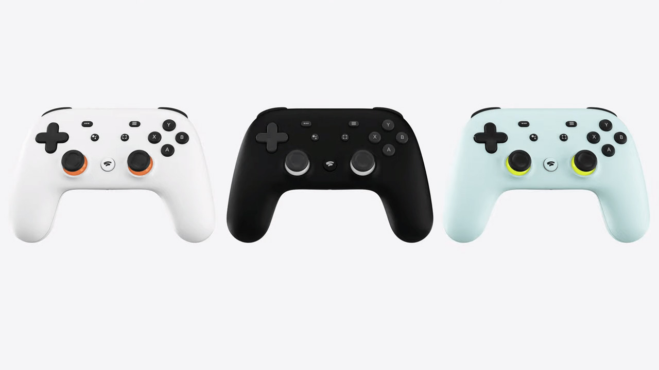 The Google Stadia Controller