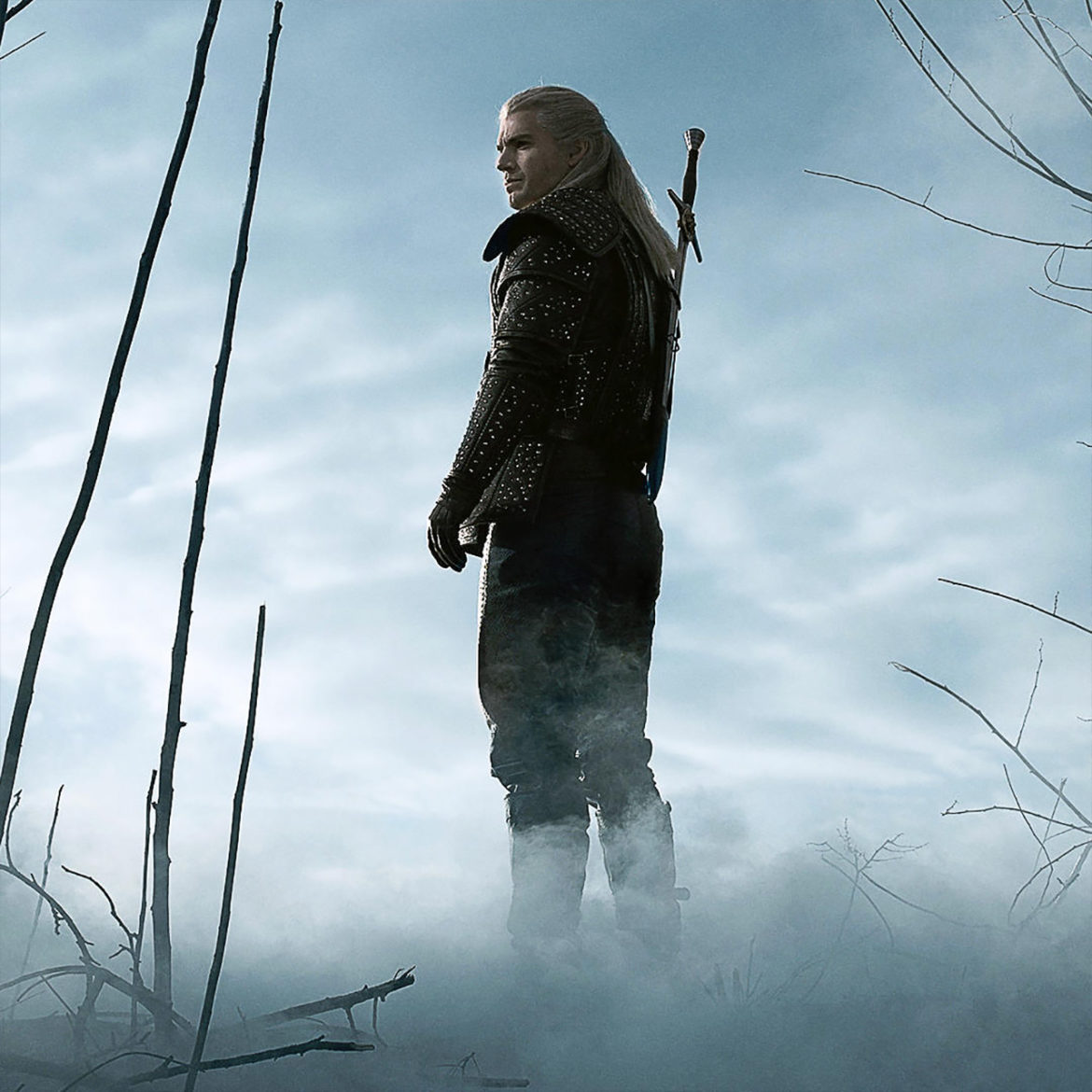 Henry Cavill as Geralt of Rivia in the Netflix Witcher series.