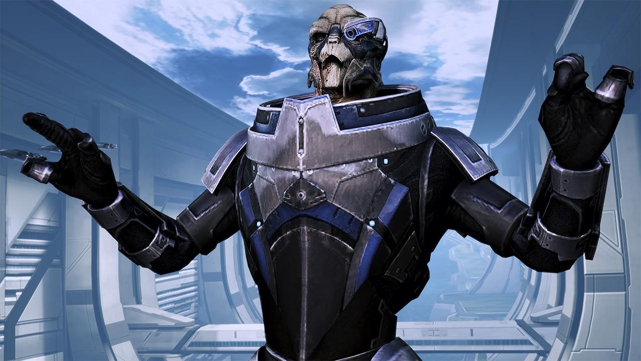 Garrus Vakarian from the Mass Effect series