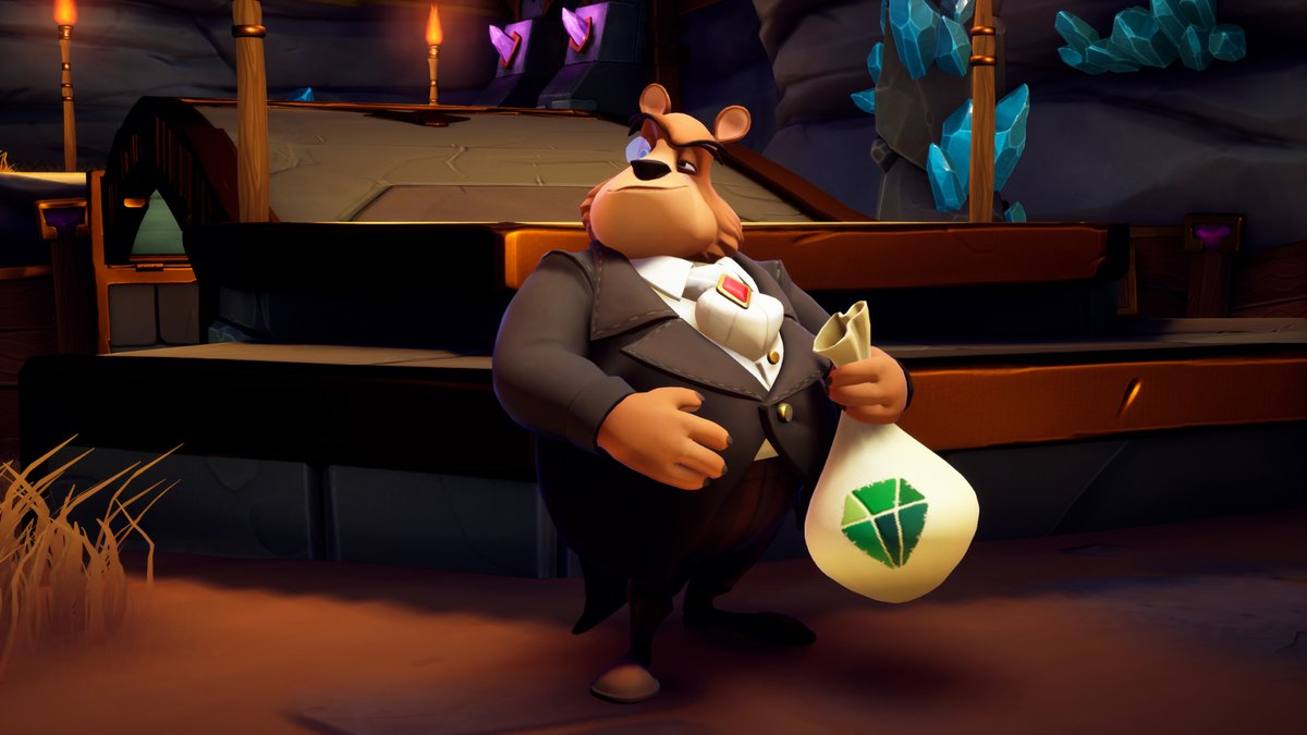 Moneybags from Spyro: Reignited Trilogy