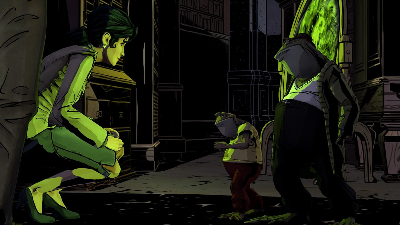 Snow White (left) from The Wolf Among Us