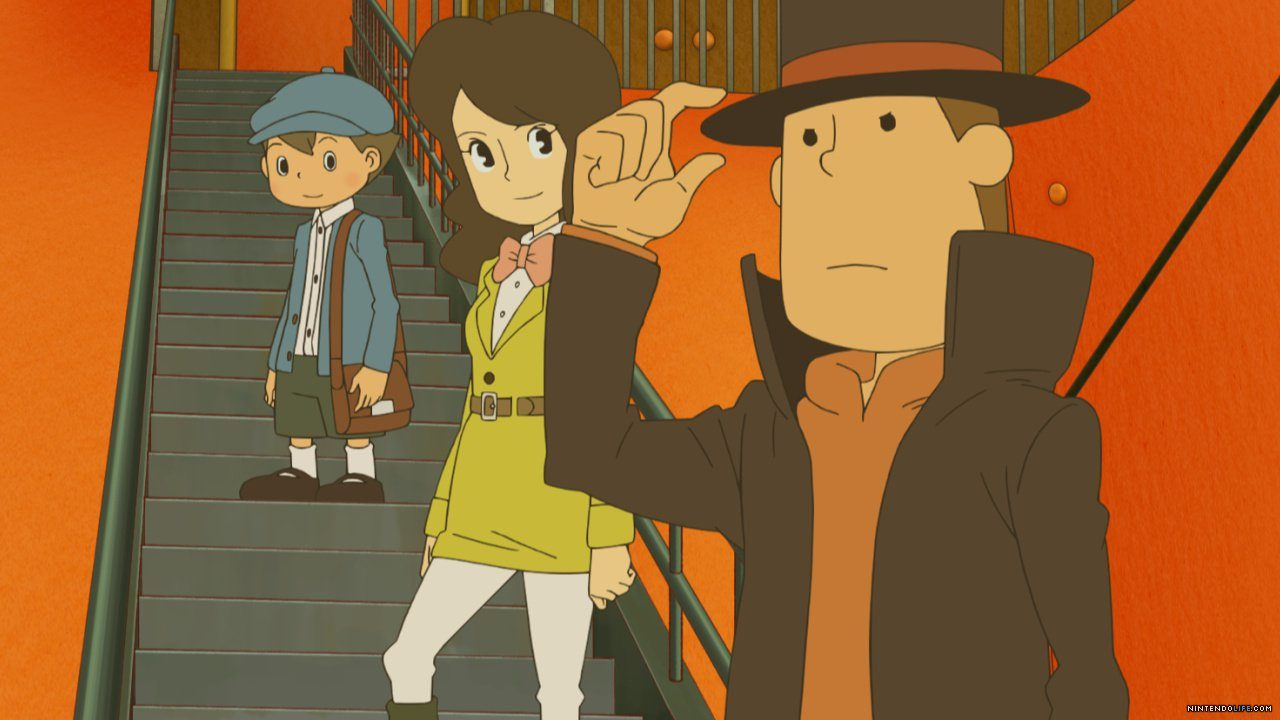 Professor Layton and associates