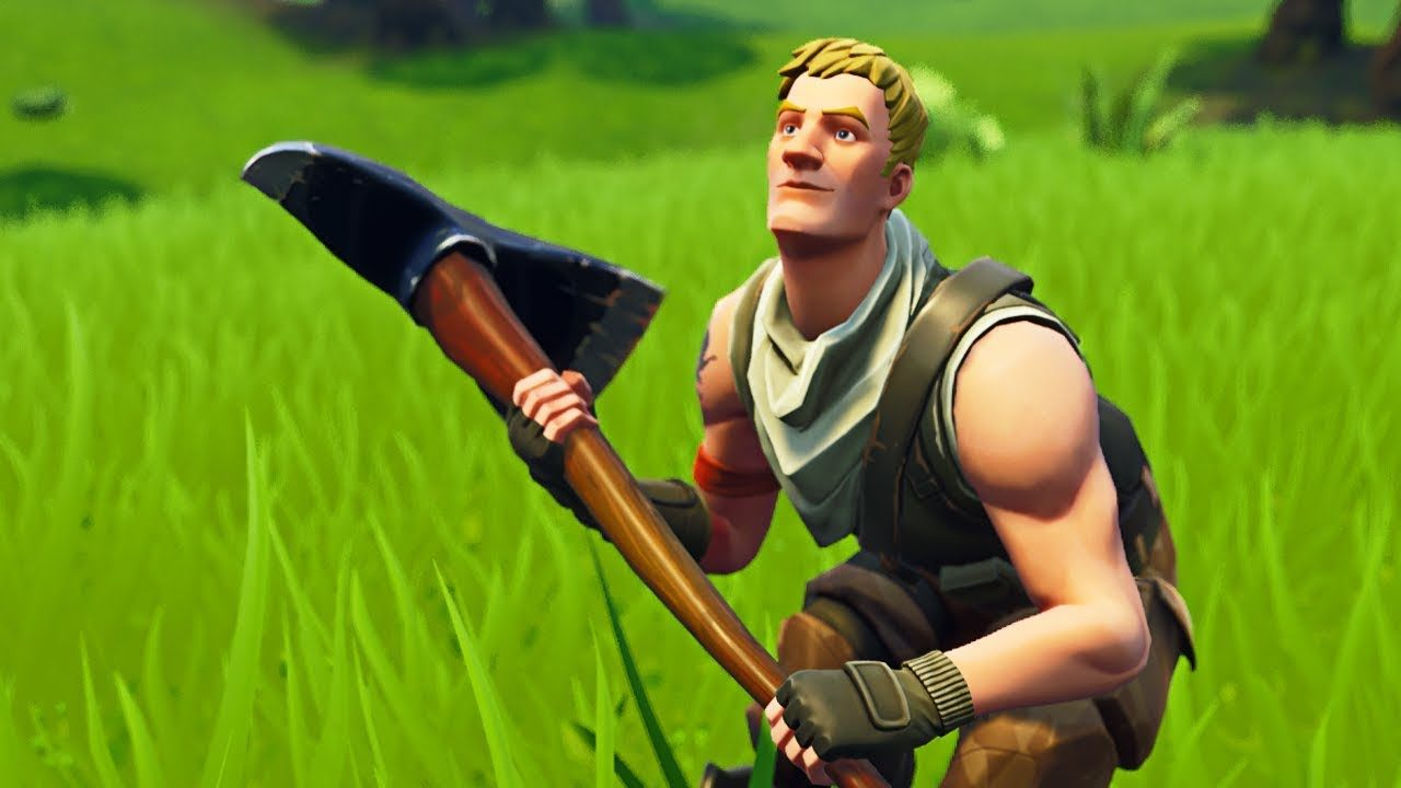 Fortnite Battle Royale's default male character skin.