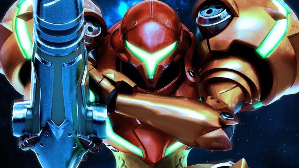 Samus Aran from the Metroid Prime trilogy.