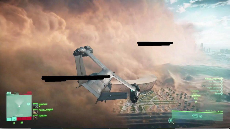 Leaked Battlefield 6 screenshot from June 2021.