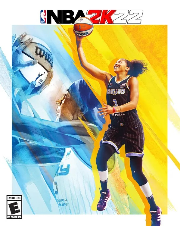 Candace Parker NBA 2K22 cover